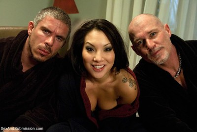 Asa akira, the sexiest asian in the aged porn industry, obtains intense rough sex,
