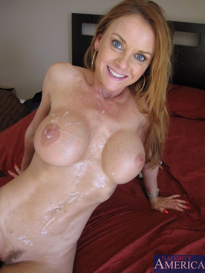 Janet mason is one very hot milf pussy giver upper