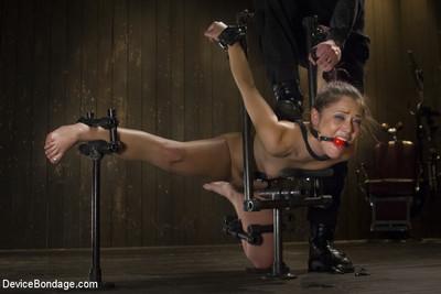 Pussy torture, extreme bondage, bastinado, ass & slit fucking!