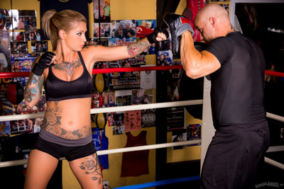 Kleio valentien fucked in the octagon