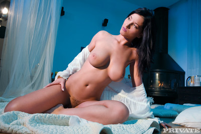 Euro brunette screwed in rough sensual action