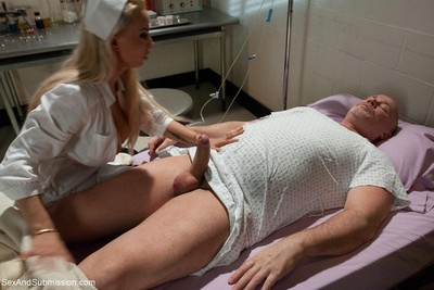 Nurse holly halston wazoo bonked and dominated in bondage!