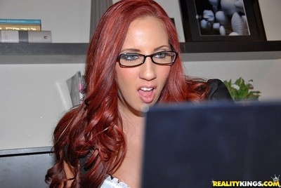 Pornstar kelly divine is a hopeless but horny boss