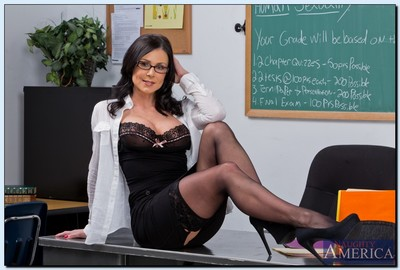 Anomalous tutor Kendra Craving acquires rid of her formal suit and lingerie