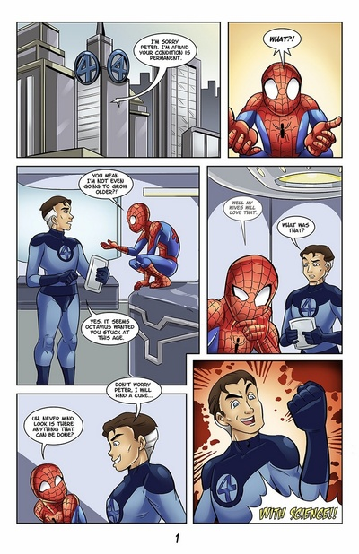 The Adventures Of Young Spidey 2