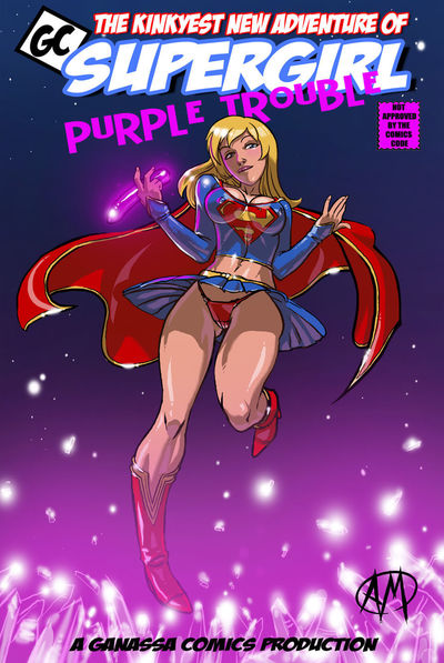 [Ganassa (Alessandro Mazzetti)] Supergirl: Purple Trouble (Superman)