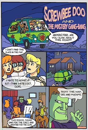 Screwbee Doo- Mystery Gang Bang