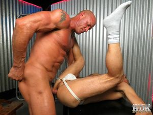Jake Norris rubs his own meat until Jason Park enters. Jake s thinking about entering as well, but first he lets his partner suck. Jake s fogged up jock stitch is just the thing to arouse a core loving fucker like Jayson. Watch as Jayson contorts his body
