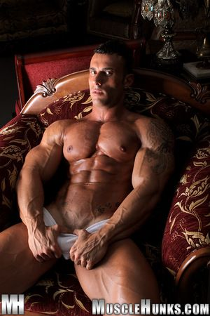 All over is a new man in town. He is yearn and lean, hot and cold, and packed apropos powerful muscle head to toe. He is Gianluigi Volti, a handsome, sunbaked 27-year old Sicilian muscleman apropos an extra-long tool and an extra-wide attitude. Ripped and