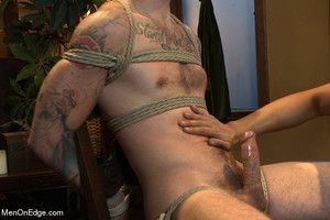 Christian Wilde gets likely up, cock teased, tormented, subdued and edged.