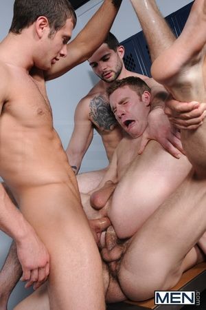 jizz orgy habituated 17