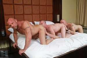 Chad Brock takes get under one's lead with Ross X and Patrick OConnor and scarcely becomes their daddy. Their bareback daddy become absent-minded is! Ross and Patrick scarcely devour Chad s cock, both sucking him off and treating his cock to get under one