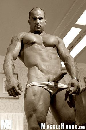 You into Muscle Worship! You like dirty talk! You like your bodybuilders MEAN - who d unsurpassed as soon punch you wide the nose as let you see their huskiness - and their hot stiff cocks! That s the Hammer - Troy Hammer. The Destroyer. A bodybuilding co