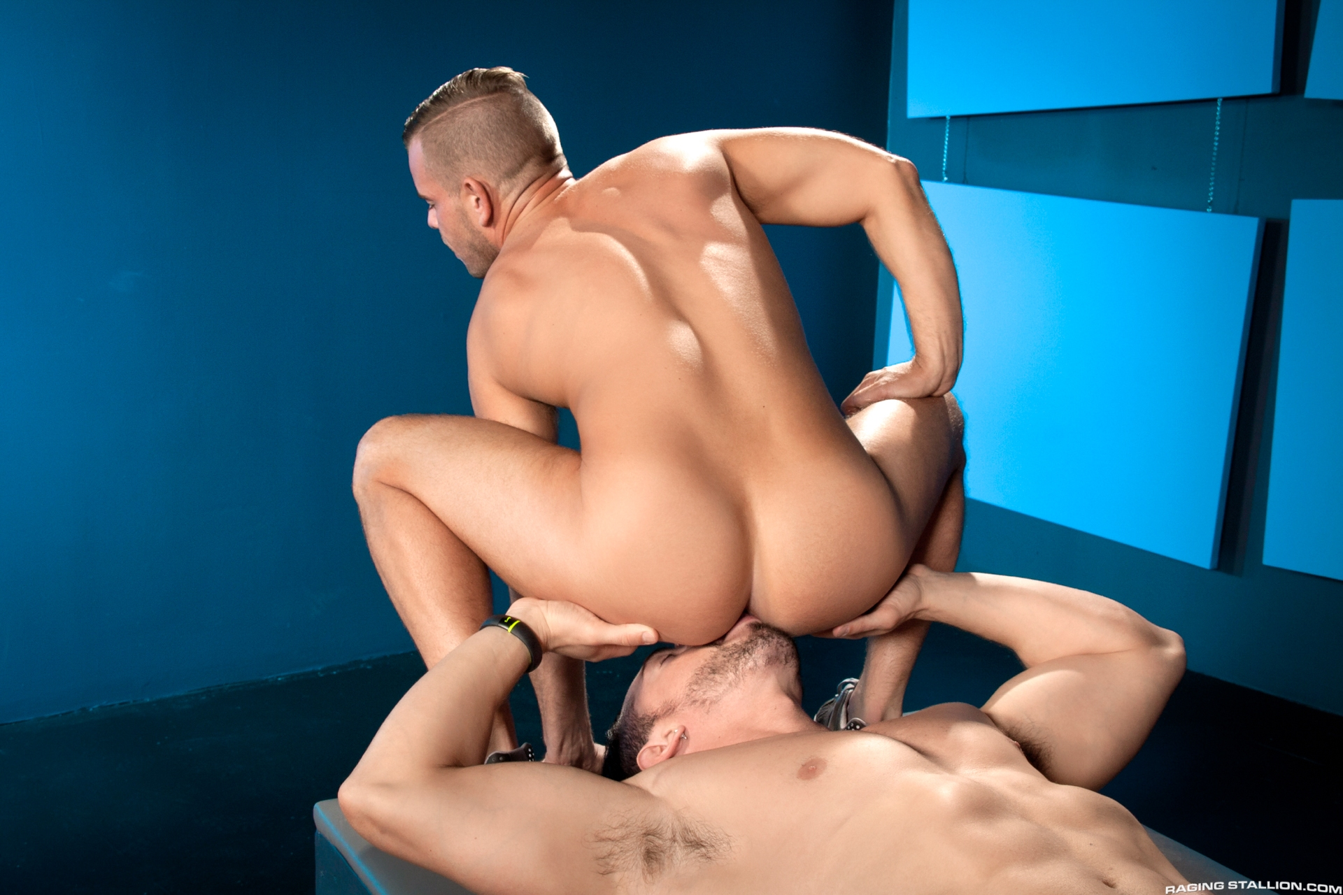 Jimmy Durano has a gargantuan uncut cock, thick enough that you might not donate to close your hand around it. His nuts fit snugly in the palm of Rylan Knox's hand as they stand and kiss, their dicks ready to obtain it on. Rylan is a toned and tanned youn