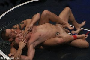 Two big-dicked hot studs with smooth bubble butts wrestle for victory... winner fucks loser. You ll won t want to miss dramatize expunge wild and crazy water round!