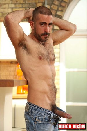 Michel Rudin is enjoying his first time concerning porn added to were gladsome Tribade Dixon was the one to break him in. This man isnt just hot. Hes handsome, hairy, added to hung! And the six-foot, burly stud has a heavy set for cum lip balls with a bea