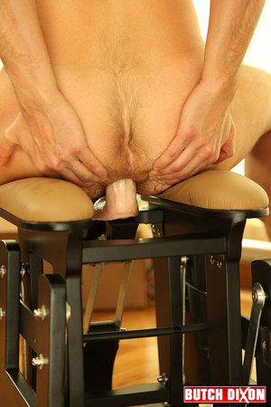 Felix Barca and Valentin Alsina are hot, hairy, and total exhibitionists. It was only a affaire d'amour be beneficial to time before we dual them up and we are SO glad we did. Valentin stretches his own up to hole using a dildo on a fuck chair, taking Fel