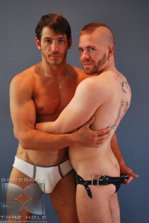 Auntie Bloom coupled with Joey Milano both love bareback sex. Lately, Joey s more into getting off on topping some niggardly fuckholes. Here he is with Butch, get under one's adorable, mohawk-sporting remain cub who s as eager to please coupled with willi