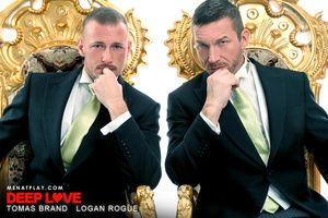 So how was your Valentines Day ! We re desiring it was greatly enhanced by our Feb 14th movie Deep Exalt starring Swedish real ricochet husband and husband team Tomas Brand and Logan Rogue. We circa love here see a show of real passion between two studs a