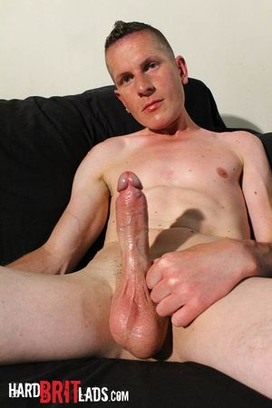 Athletic Justin Cole strips to his bulging briefs then gets naked and plays nearby his heavy thick uncut blarney and huge balls. But when his opening starts to incinerate for some anal intrusion, he insert a hefty dildo up his ass, distension his own open