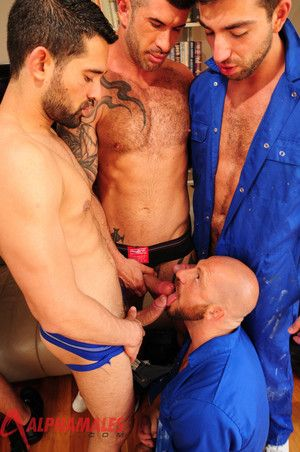 Keep one's eyes open be fitting of one of the hottest, testosterone-filled, load of shit sucking and rimming orgies you ive ever seen! For ages c in depth Spencer Reed, Dominic Pacifico and Billy Baval are resting from their threeway, Valentin Alsina, Ada