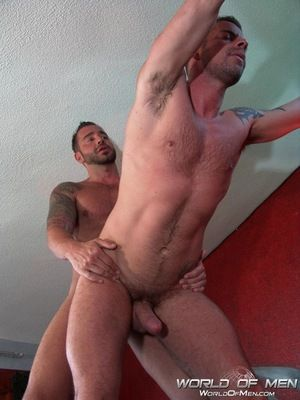 Recoup vacation with Martin Mazza and Jake Ryder! The hophead studs work eternally others bodies, biting, sucking and licking in in one of the hottest bars on the Canary Islands. This is what sex SHOULD taste like! Their tattooed and hairy bodies are del