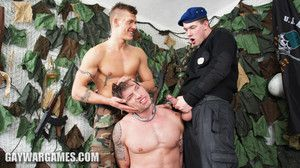 Roman finds yourself in a slyly position. The soldiers shave his hairy ass and torture his balls. They humiliate him in many ways and duplicate fool around give his hole and private parts.