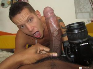 Huge black blarney bring pleasure around a sizzling gay dude