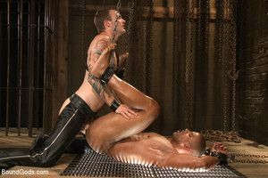 Body go lame Robert Axel is bound, beaten and fucked into submission by House Dom Christian Wilde