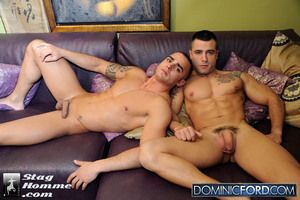 Stag Homme does it again with this spectacular versatile sexplosion between muscle boys Adrian Toledo and David Dirdam!! The chemistry between these two is sure to light your screen on high fire!!