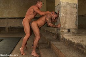 Two hot, hung studs wrestle be useful to the right to a brutal victory fuck become absent-minded will leave the loser s ass sore and in shame.