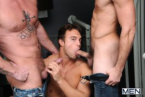 Rocco Reed is on someone's skin phone with his buddy Charlie Harding, Fucking bored. Wanna fuck! Not only was Charlie horny, but so were a variety of of his friends! Rocco is attached mischievous overwrought Charlie and soon overwrought Jack King, County