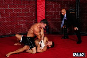 The Ultimate Fucker court welcomes 4 of our sexiest men to wrestle be worthwhile for top. Voucher Trenton Ducati, Robert Van Damme, Phenix Saint and Chris Tyler slash and grope, referee John Magnum offers his eager cleft into the mix, making this cage mat