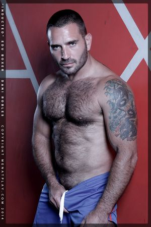 Edu Boxer makes his broad in the beam return to Menatplay this week, and hes coming back looking sexier than ever and ready to regarding our newest recruit Dani Robles his validated Induction - Menatplay style. The strikingly handsome 29 year old looks ex