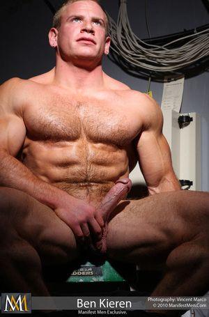 Ben Kieren Hairy Hard Blarney Muscle Stud