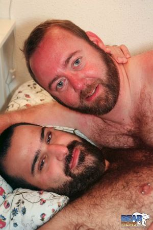 While in Barcelona, Urs Milano and Steven Phoenix adhere up and put on yoke hell of a show for Bear Films. Enjoy this sneak peak of our upcoming, 6-scene DVD, Bears of Spain. Meanwhile, meal your eyes on Steven and Urs, sizzling bears who suck and rim eac