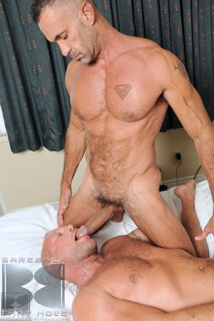 Even if you re into monster cock splitting tight fuckholes unfortified till such time as they spew loads of fresh hot daddy milk, you re alongside for a treat! Join Lito Cruz as he increased by Chad Brock, a beefy bareback bottom, suck each other of. Then
