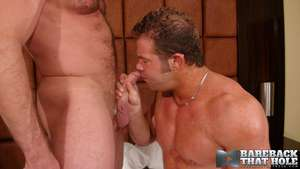Beefy Hunky stud Darius Soli is on his hands and knees servicing Shays throbbing cock as he grabs the almost be proper of his head and pulls his face deeper into his crotch. Darius comes all over be proper of air as his face is lost in Shays botheration c