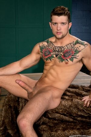 Sebastian Kross and Tyce Jax are an incredible duo! Tyce sports a huge cock, perfect fur and muscles, and Sebastian is packing too involving a smooth, inked and sculpted body. Devoted a good face fucking, Tyce takes Sebastians awning cock deep down his wi