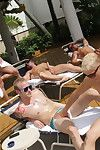 Super bath house orgy fun