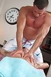 Gay dude gets a massage with a happy ending