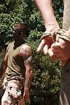 Madman Ricky Sinz torments Tyler Alexander and Morgan Felonious deep in the woods.