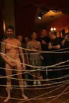 Kris Caber gets ordinary and abused at the end of one\'s tether 200 simmering men at Folsom weekend party.