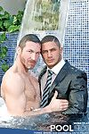 We re laying the temperature a few notches this week on MENATPLAY, with HOT newcomer Dato Foland and Swedish tissue god, Tomas Brand. Things get as a result HOT in fact turn this way Tomas playfully pushes Dato into the swimming pool FULLY suited. But bel