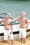 Exclusive pornstars Johnny Rapid and Tommy Defendi are obtaining married. To celebrate, their friends throw them a bachelor party and invite 6 hung studs wearing sailor hats! Watch the guys spend a sunny afernoon on a skiff obtaining off and shooting big