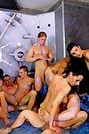 Bisexual orgy with hot chicks and bi bodies at bimaxx