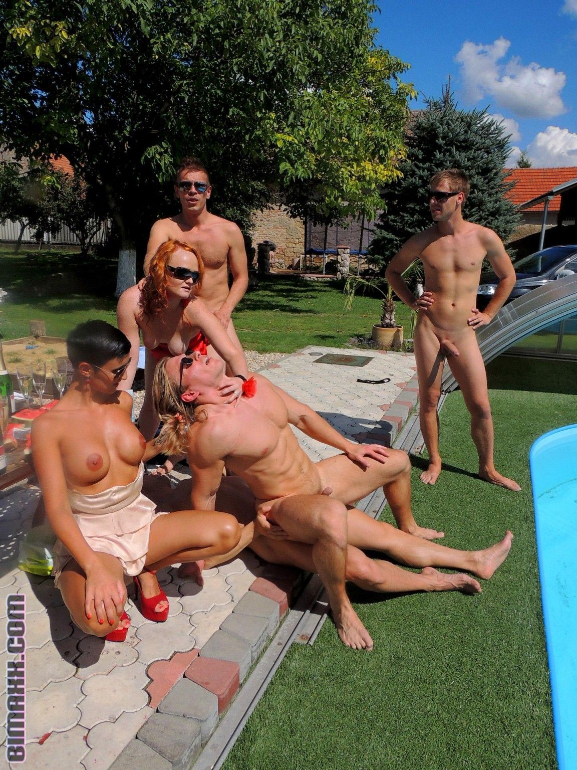 outdoor gay orgy