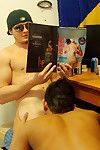 Hot hard college boys fuck eachothers nuisance while jerking off to hot babe mags hot real user submitted dorm fuck pics