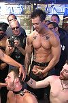 Brian Strait-jacket gets humiliated in front of billions of people and gang fucked at a keep out sex shop for San Francisco s Dore Alley Not at all bad