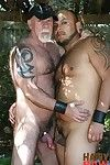 Tony Rivera aches for G fucker Mac Brody while working in his backyard. The hungry Latino makes his mandate on the sweaty, hairy Daddy, distracting the man from his work. Heat coupled with humidity arent the only thing on the rise because the next thing y